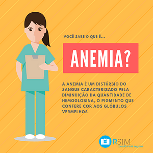 O que é anemia? Conheça e previna-se