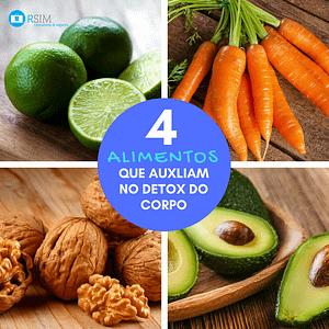 4 alimentos que auxiliam no detox do corpo